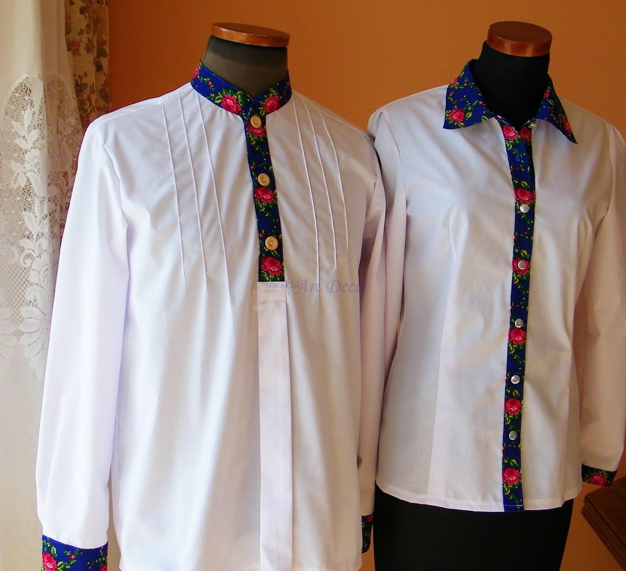 Koszula damska i męska do restauracji Beskid Art Deco  hCJIk