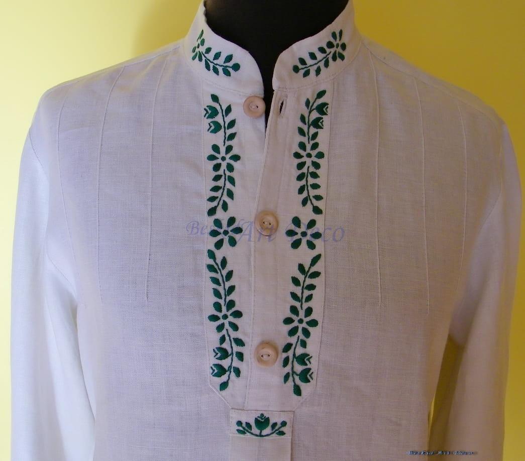 Koszula ludowa,regionalna męska Beskid Art Deco Rękodzieło  hNOit